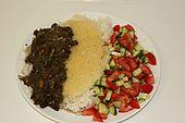 Iranian vegan stew