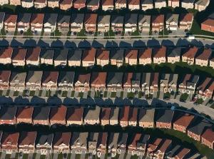 Snout house high density development