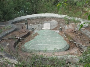 Chinese turtle back tomb