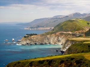 Big Sur north toward Bixby Creek Bridge