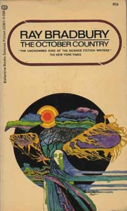 Cover of October Country 1985papaerback