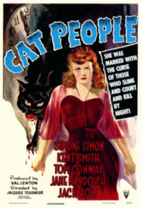 Poster for Cat people movie