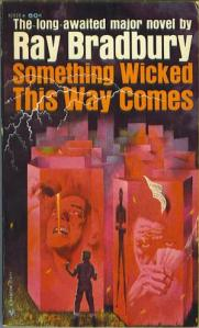 Cover of Something Wicked This way Comes paperback 1963 edition