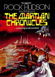 Pster for TV mini-series The Martian Chronicles