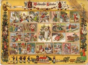 Old German Advent Calendar