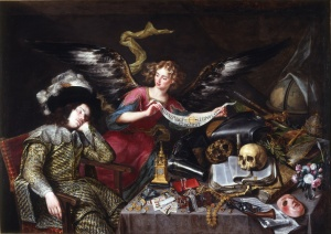The Knight's Dream painting by Antonio de Pereda
