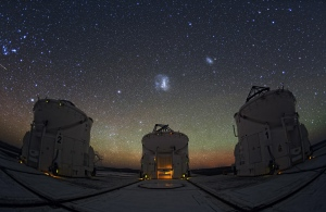 Night sky from ESO's Paranal Observatory in Chile,