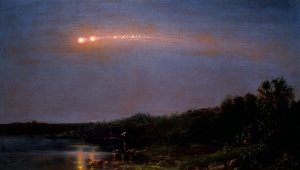 Painting The Meteor of 1860 by Frederick Church