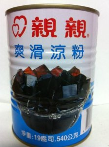 Can of grass jelly drink