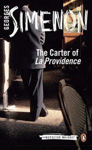 Cover of Penguin reissue of Inspector Maigret novel The Carter of La Providene