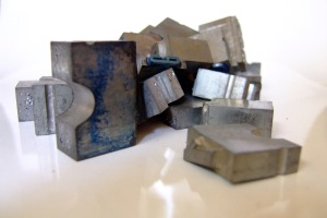 Cubic and rectangular lead crystals