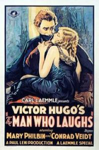 Post for silent movie The Man Who Laughs