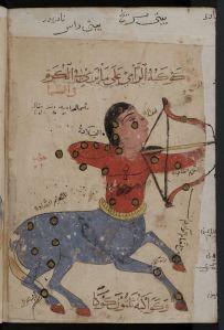 Old Arab image of Sagittarius