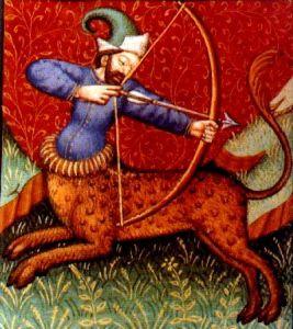 Old image of Sagittarius