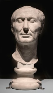 The Tusculum portrait, possibly the only surviving sculpture of Caesar made during his lifetime