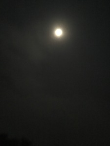 The full moon on Kojagiri 2017